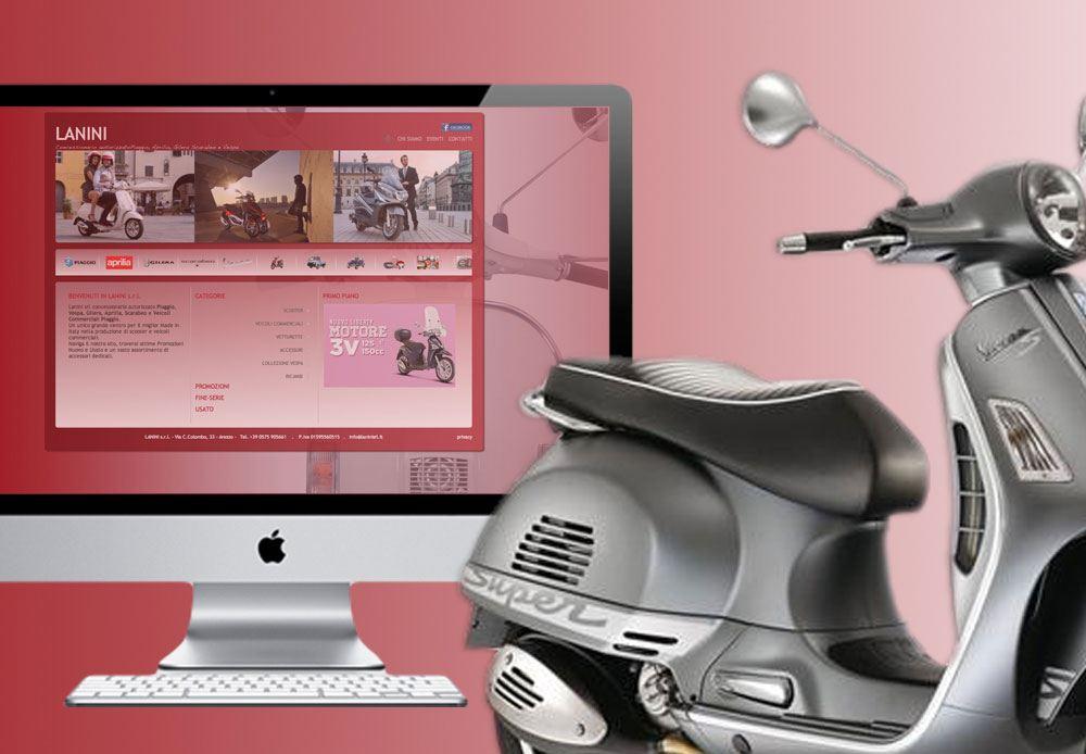 Lanini srl concessionario autorizzato Piaggio, Vespa, Gilera, Aprilia, Scarabeo e Veicoli Commerciali Piaggio.