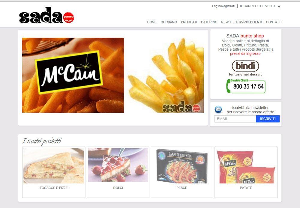 Vendita online prodotti surgelati con consegna domicilio per Arezzo e Provincia
