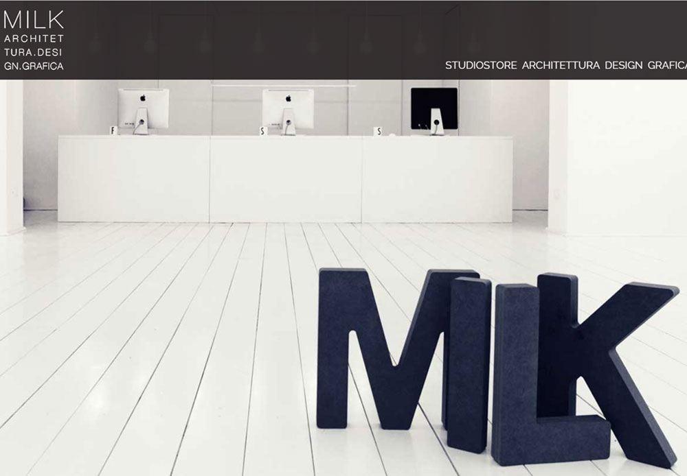 Nuovo look per il sito Milk Design