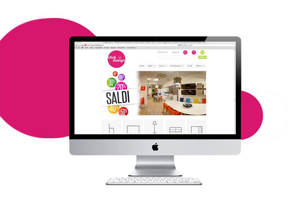 Clickdesign.it ampia gamma di prodotti per l'arredamento della casa, da mobili e librerie a sedie e tavoli delle migliori marche e design Calligaris Zamagna Kastel