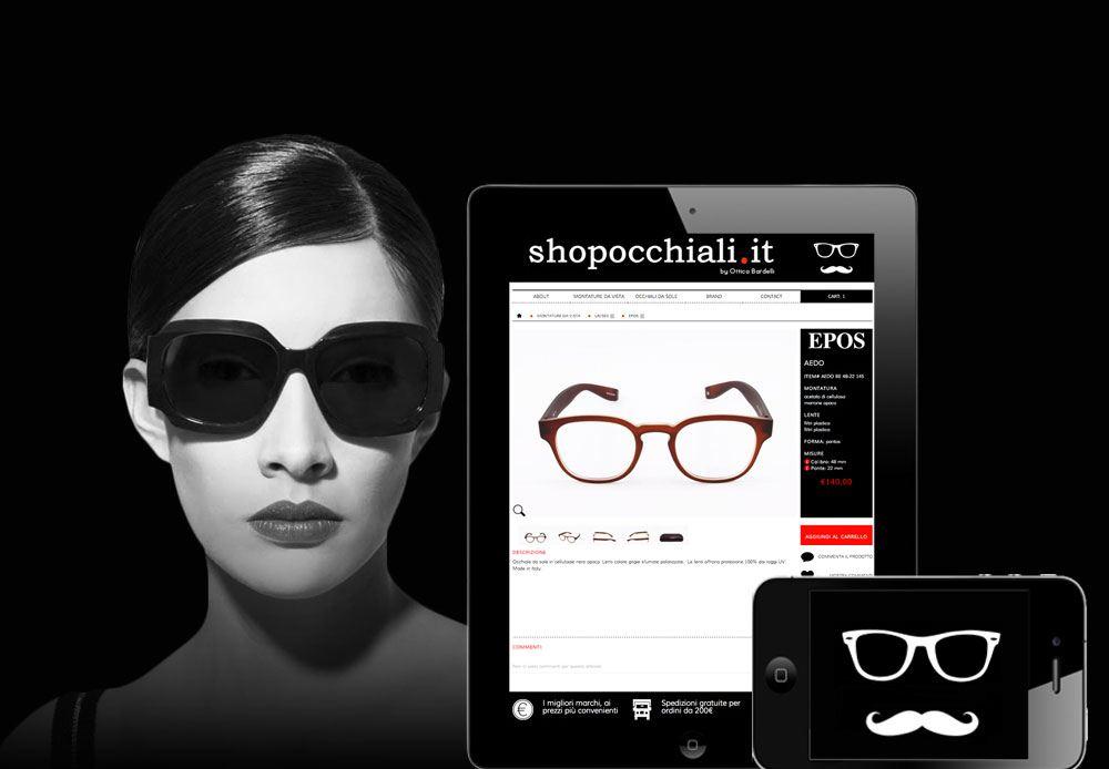 e-commerce per chi vuole acquistare online occhiali da sole e montature da vista