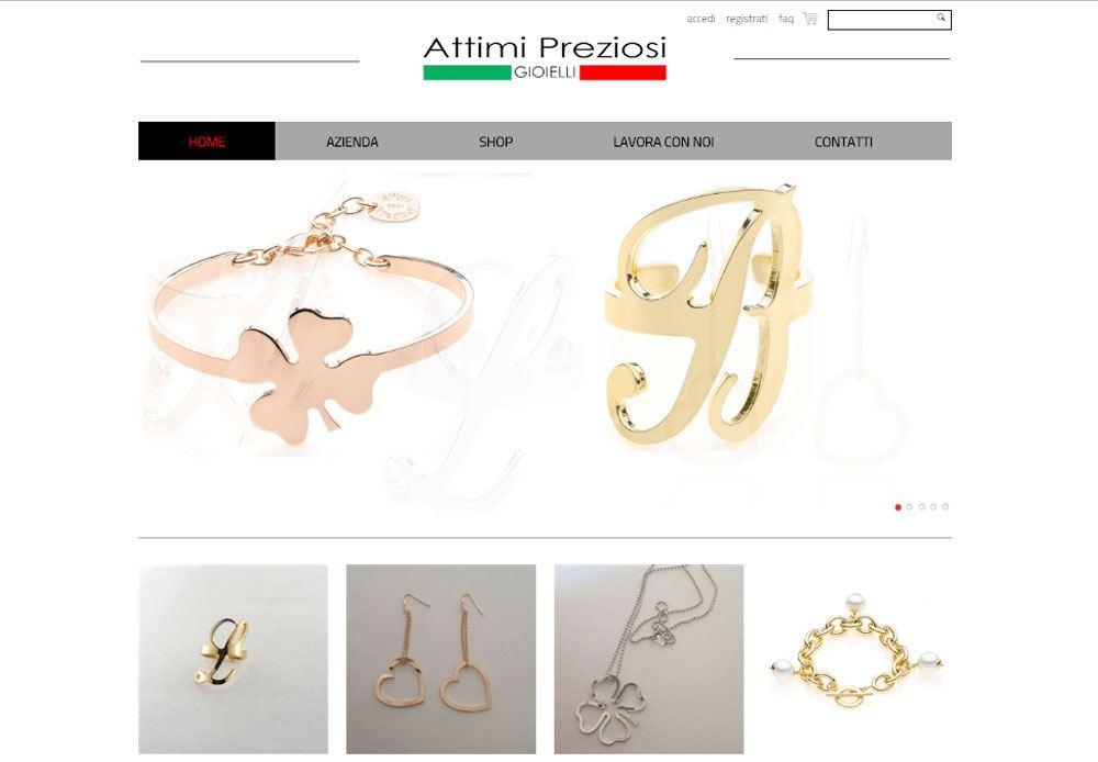 eCommerce Attimipreziosi.com :: brand nuovo, di tendenza e motivato che unisce la qualità dei prodotti e l'originalità del design alla sicurezza del Made in Italy