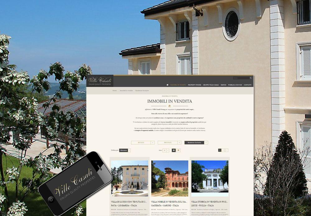 Affidatevi a Ville Casali Group per acquistare la proprietà dei vostri sogni... Siete alla ricerca di una villa o un casale da acquistare? Sito web responsive