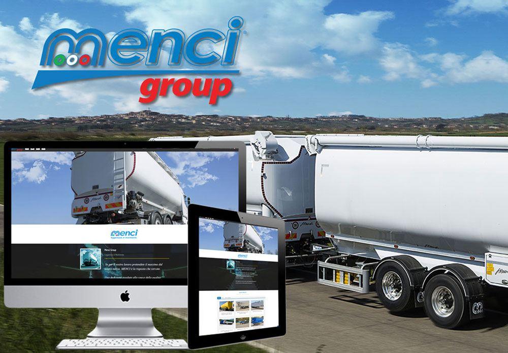 Menci Group Spa nuovo sito web responsive