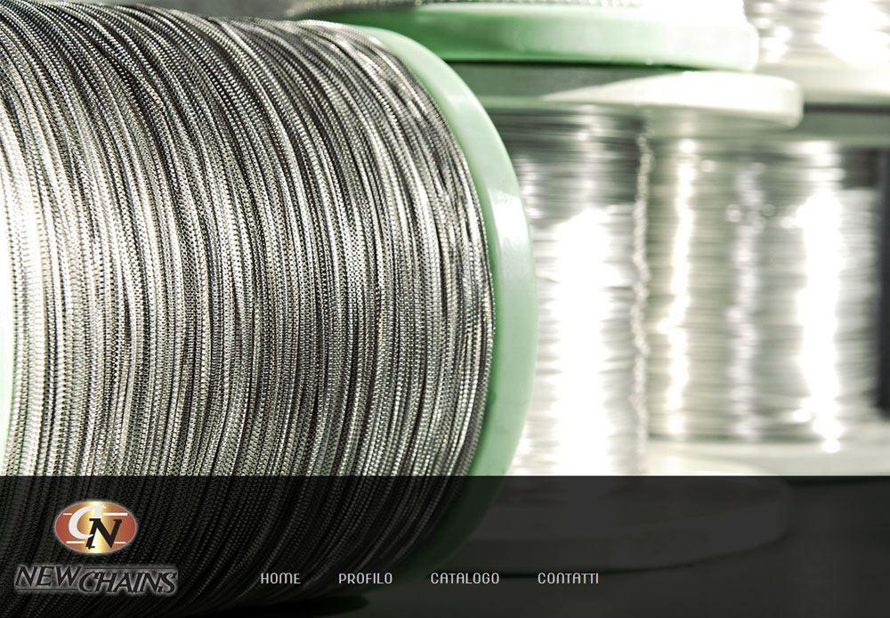 Azienda produzione catene in argento.